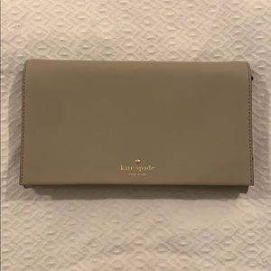Kate Spade Clutch with removable strap